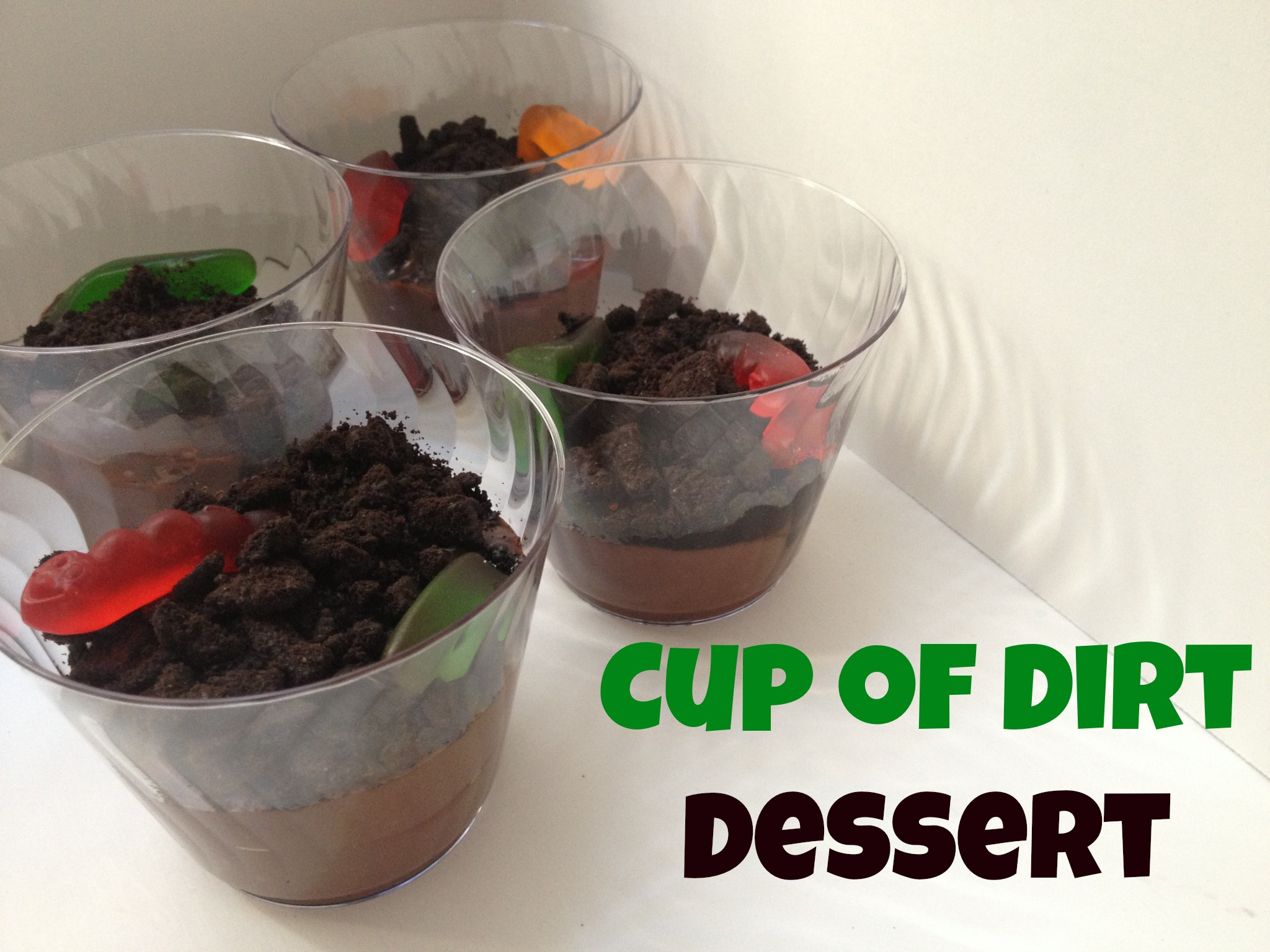 Cup of Dirt Dessert recipe