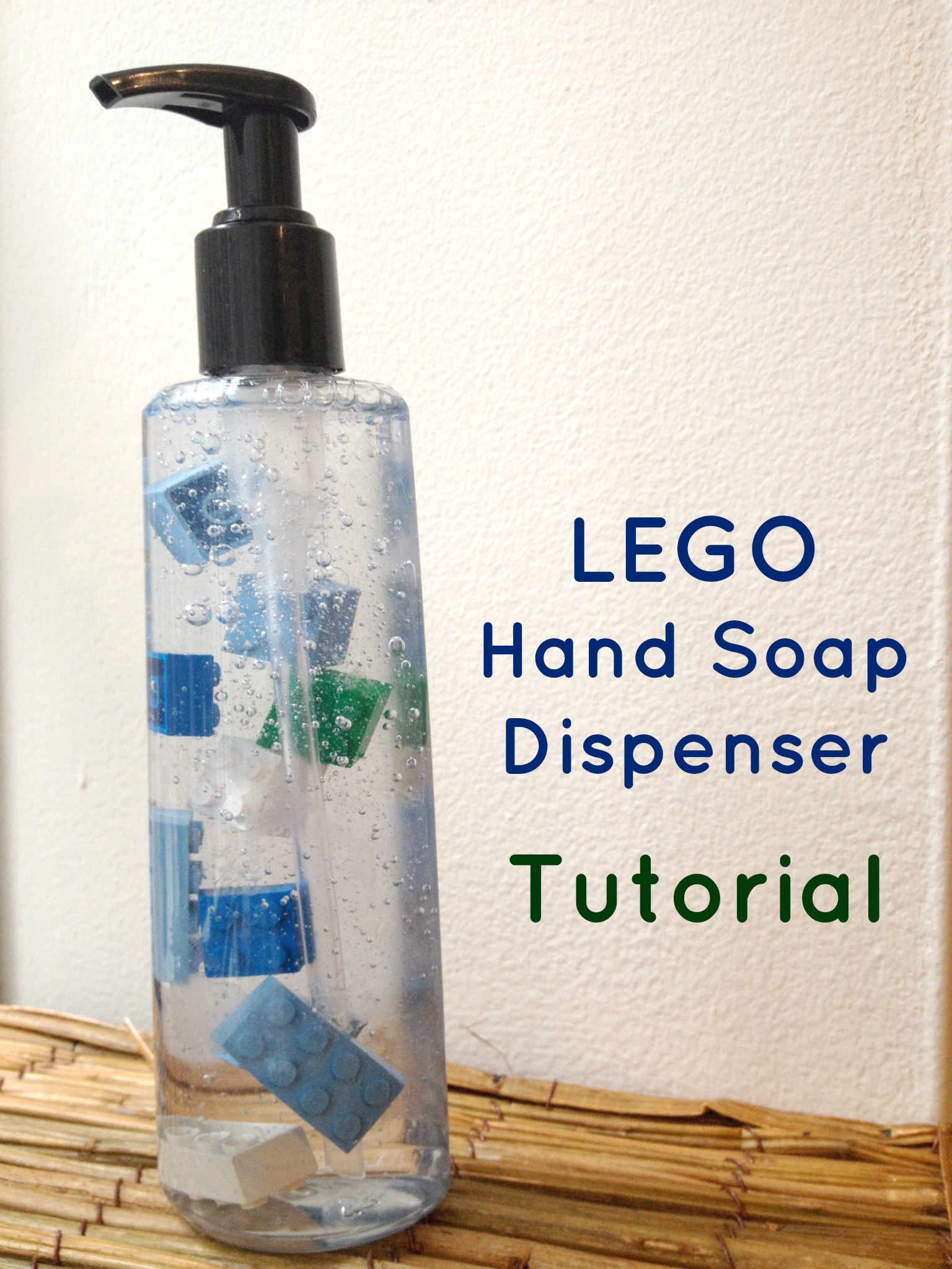 Lego Soap Dispenser Tutorial Veep Veep
